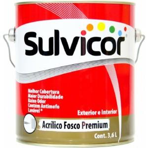 SULVICOR ACRILICO FOSCO ALGODAO EGIPCIO - 3,60L